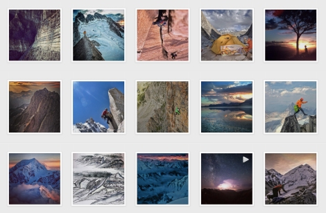 Screen Shot of Renan's Instagram (all photos copyright by Renan Ozturk)