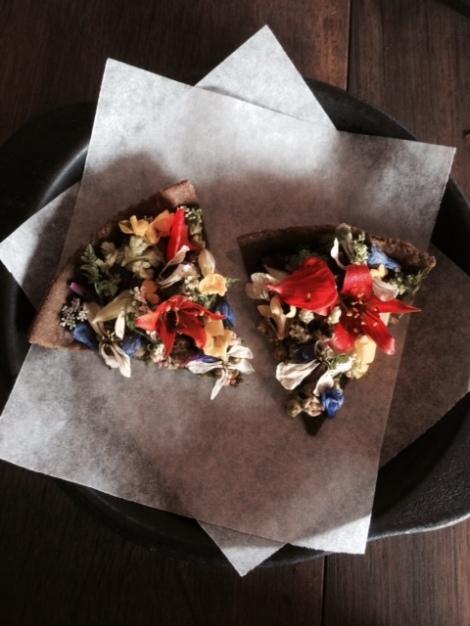 Flower tart