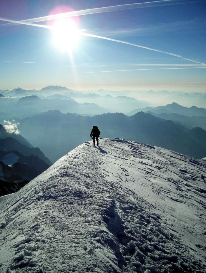 AIR: Summit of Mt Blanc, France/Italy