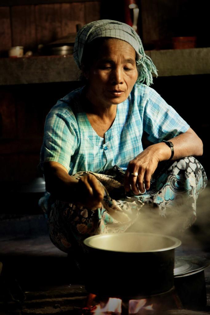Cooking burmese-style